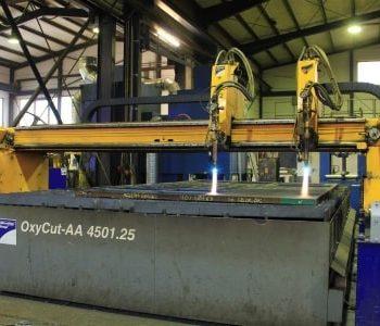 Brennschneiden für unlegierten Stahl bis 200 mm