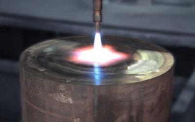 Brennschneiden bis 300 mm Stärke bei C. & F. vom Brocke