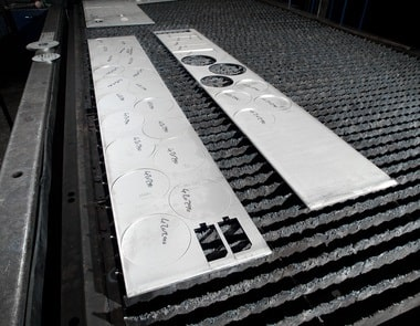 Brennteile-Fertigung für alle schneidbaren Metalle