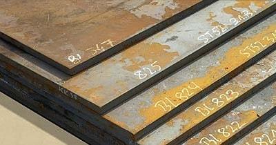 Baustahl gebrannt in verschiedenen Qualitäten
