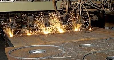 Brennschneiden von Stahl bis 250 mm